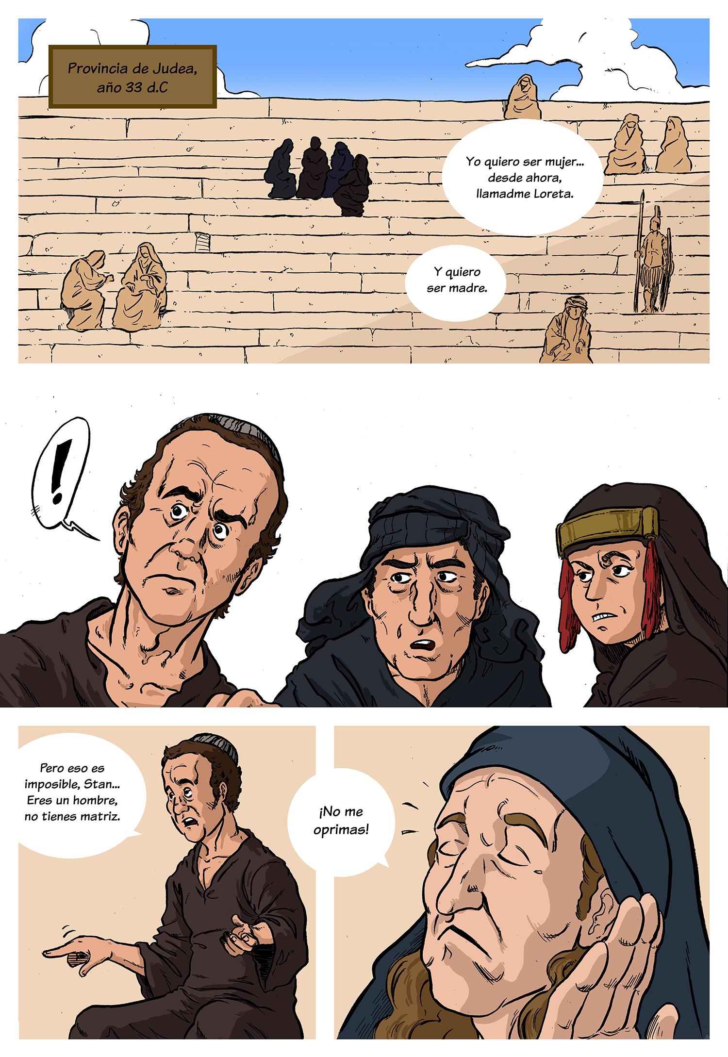 La vida de Brian 1 Cinefórum en viñetas Guillermo Altarriba