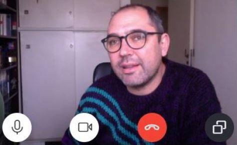 El director de cine Ezequiel Radusky
