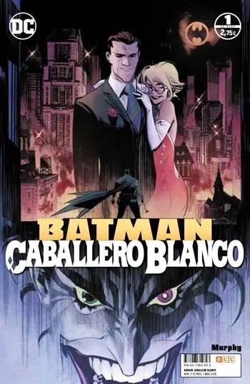 portada Batman caballero blanco