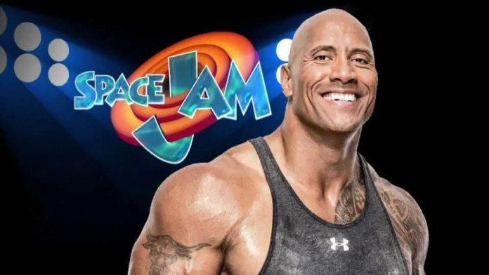 Dwayne Johnson in the sequel to Space Jam 2?