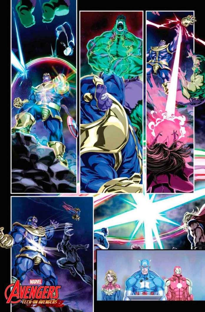 Tech On Avengers 2