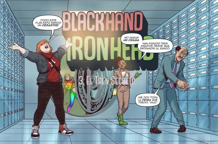 New comic by David López