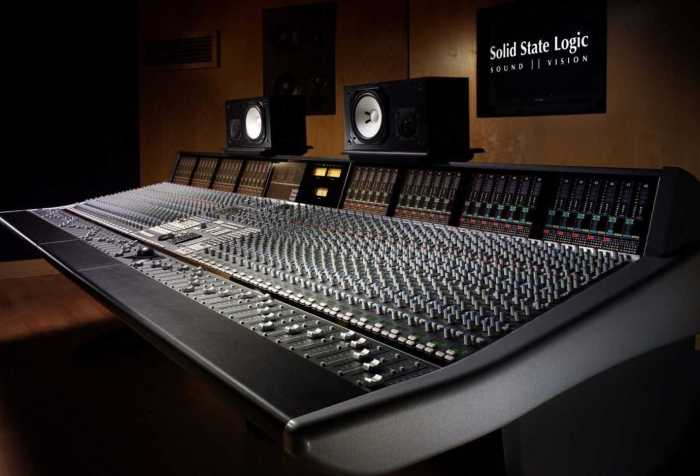 Solid State Logic console