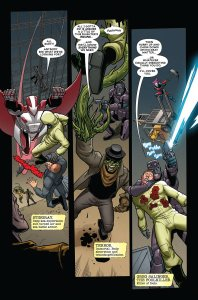 Deadpool Mercs for Money #1 page
