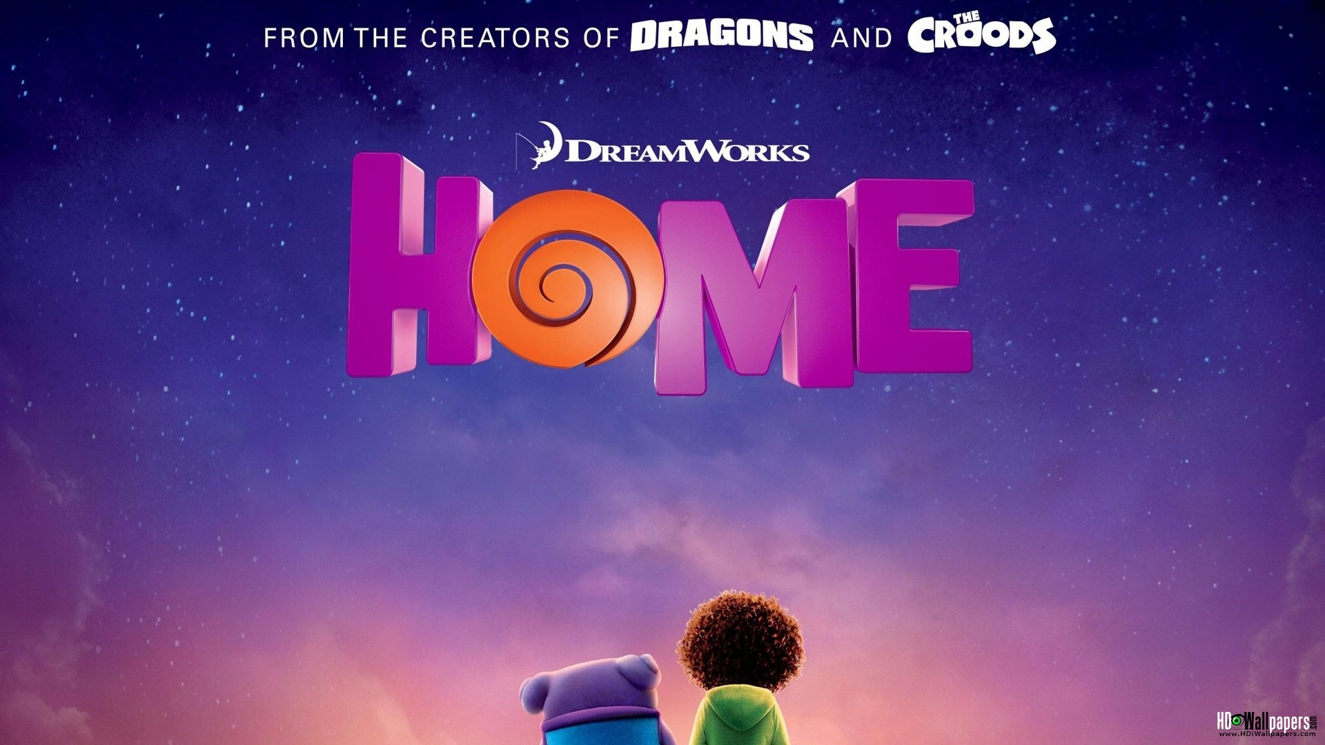 HOME (PG) Released by 20th Century Fox/DreamWorks Animation Review by Adam Mast