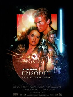 Star Wars: Episode II - Attack of the Clones (2002) Poster