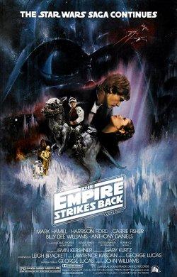 Episode V - The Empire Strikes Back (1980) Poster