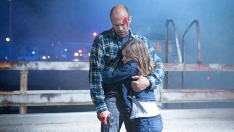 Jason Statham en Izabela Vidovic in Homefront