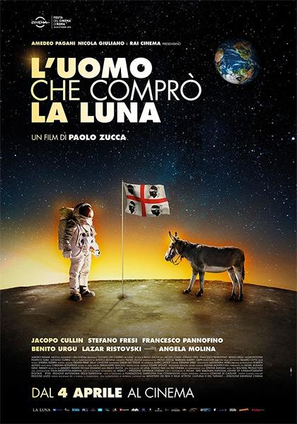 locandina L'uomo che comprò la Luna, di Paolo Zucca