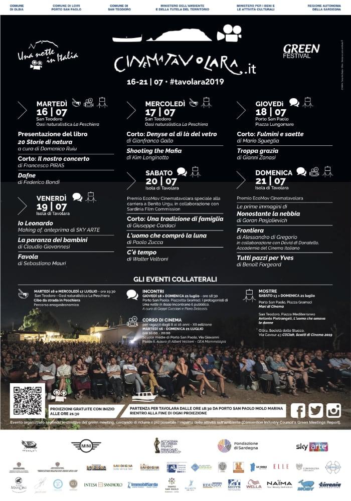 Manifesto Festival Cinematavolara 2019