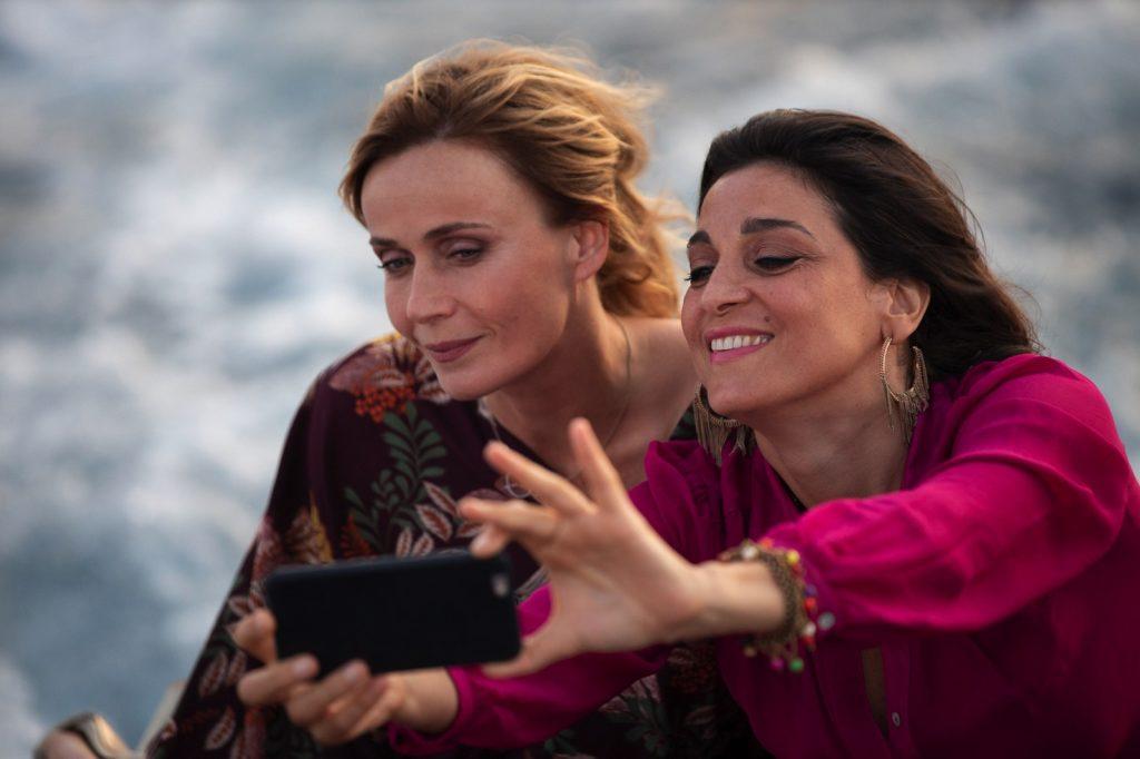 Cinematavolara 2019 quarta serata Lucia Mascino e Donatella Finocchiaro