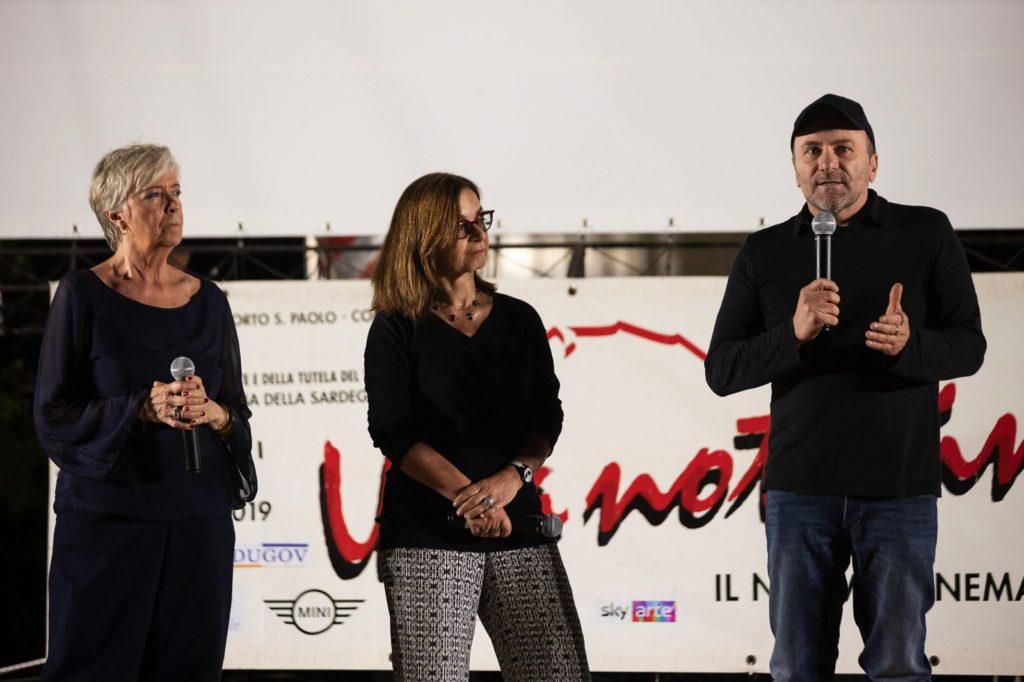 Cinematavolara 2019 seconda serata Piera Detassis, Stefania Ulivi e Gianfranco Gallo