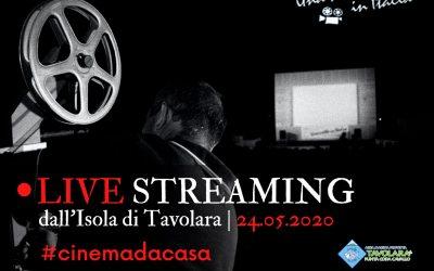 Live Streaming dall'Isola di Tavolara