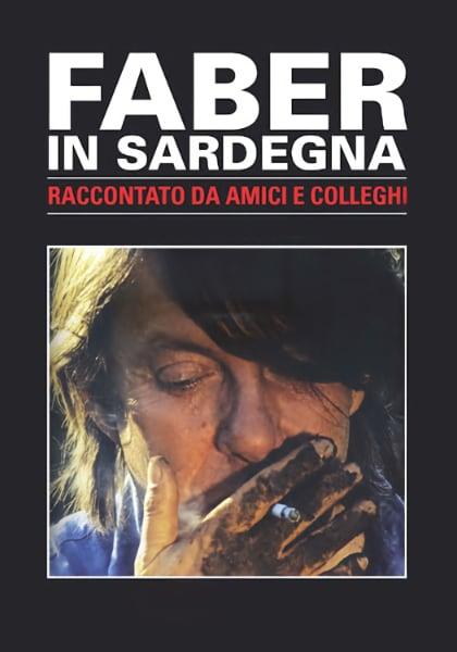 Locandina italiana Faber in Sardegna film di Gianfranco Cabiddu