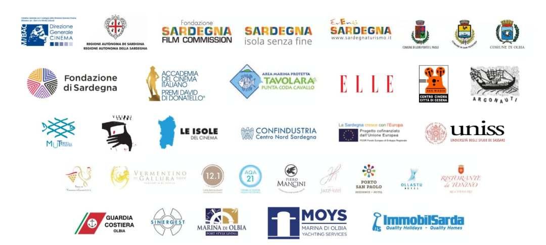 Partner e sponsor Festival Cinema Tavolara 2021