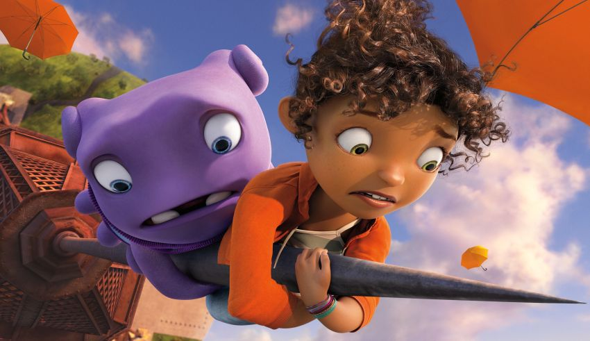 """Jim Parsons and Rihanna star in Dreamworks Animations' """"Home"""""""