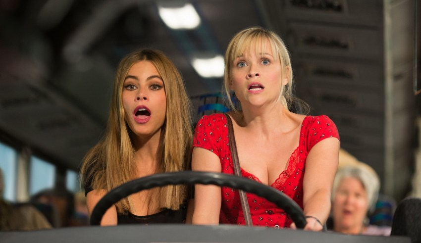 """Sofia Vergara and Reese Witherspoon star in Warner Bros. Pictures' """"Hot Pursuit"""""""