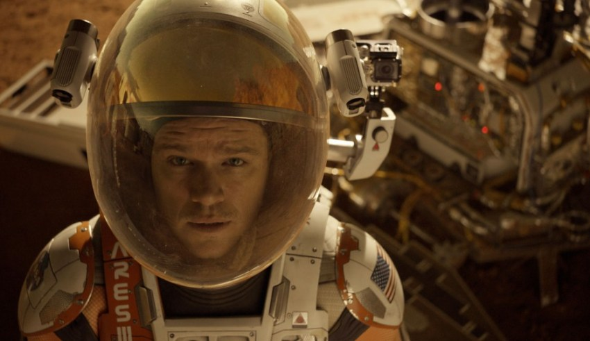 "Matt Damon stars in 20th Century Fox's ""The Martian"""