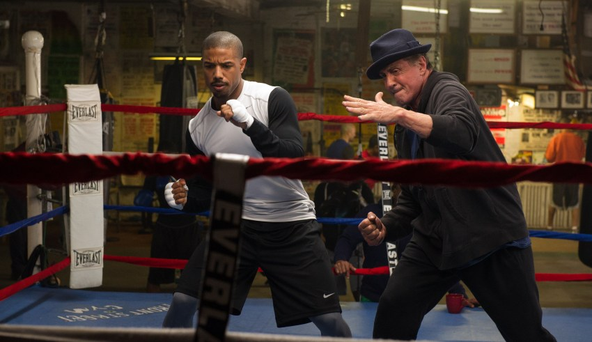 "Michael B. Jordan and Sylvester Stallone star in Warner Bros. Pictures' ""Creed"""