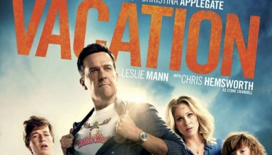 "Poster for Warner Bros. Pictures' ""Vacation"" featuring Ed Helms and Christina Applegate"