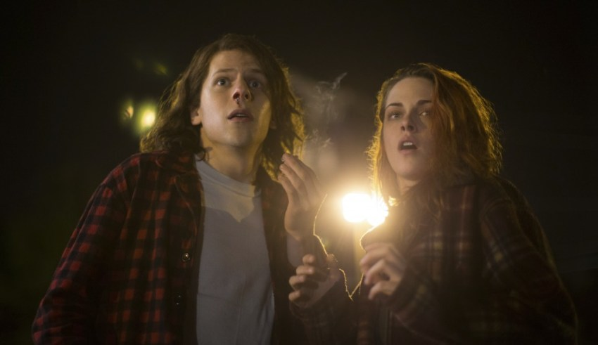 Jesse Eisenberg and Kristen Stewart in Lionsgate FIlms' AMERICAN ULTRA