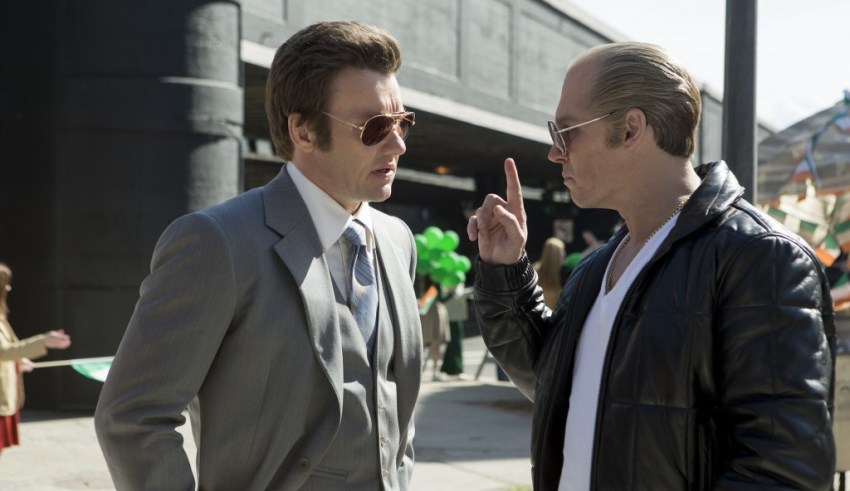 "Joel Edgerton and Johnny Depp star in Warner Bros. Pictures' ""Black Mass"""