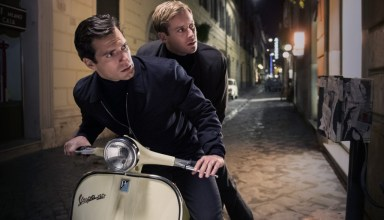 "Henry Cavill and Armie Hammer star in Warner Bros. Pictures' ""The Man From U.N.C.L.E"""
