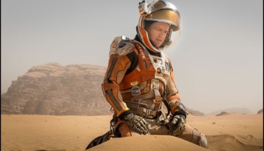 Matt Damon portrays the titular hero in 20th Century Fox's THE MARTIAN