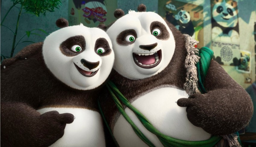 Jack Black and Bryan Cranston star in Dreamworks Animation's KUNG FU PANDA 3
