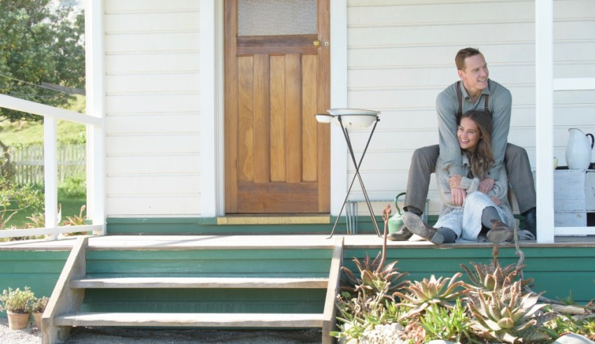 Michael Fassbender and Alicia Vikander star in THE LIGHT BETWEEN OCEANS