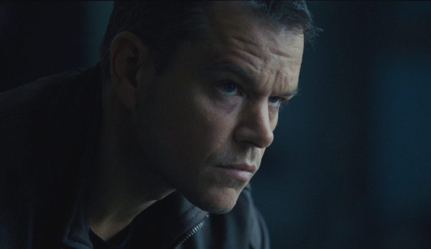 Matt Damon stars in Universal Pictures' JASON BOURNE