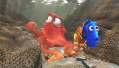 Ed O'Neill and Ellen DeGeneres star in Disney Pixar's FINDING DORY