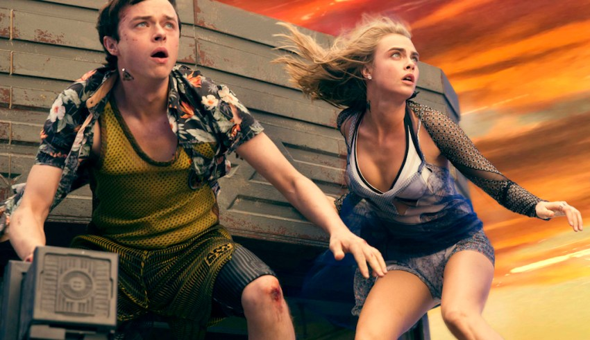 Dane DeHaan and Cara Delevingne star in STX Entertainment's VALERIAN AND THE CITY OF A THOUSAND PLANETS