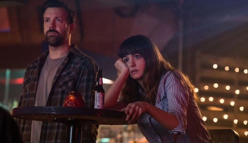 Jason Sudeikis and Anne Hathaway star in Neon's COLOSSAL