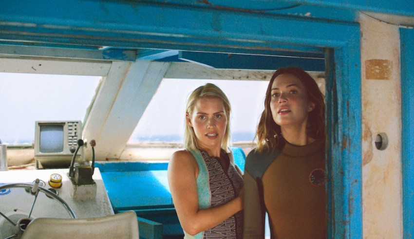Claire Holt and Mandy Moore star in 47 METERS DOWN