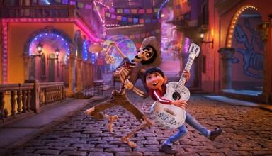 Gael Garcia Bernal and Anthony Gonzalez star in Disney Pixar's COCO