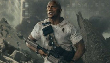 Dwayne Johnson stars in Warner Bros. Pictures' RAMPAGE
