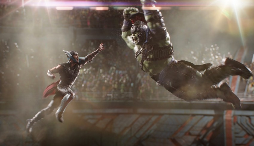 Chris Hemsworth and Mark Ruffalo star in Marvel's THOR: RAGNAROK