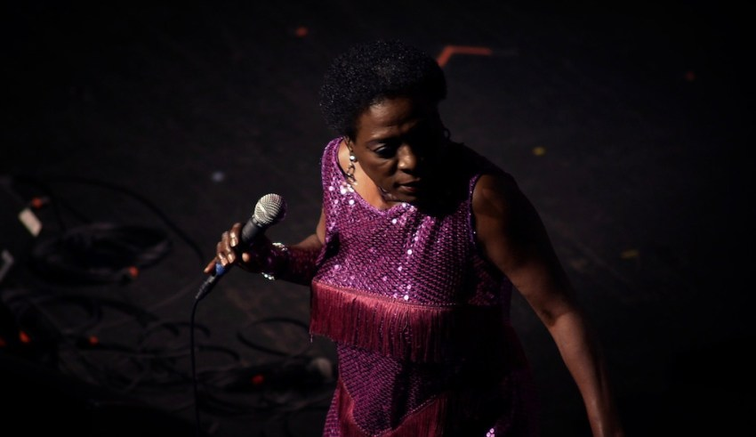 Sharon Jones in The Orchard's LIVING ON SOUL