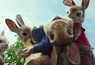 James Corden in Columbia Pictures' PETER RABBIT