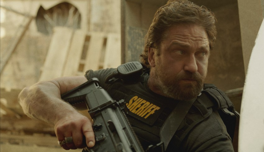 Gerard Butler stars in STX Films' DEN OF THIEVES