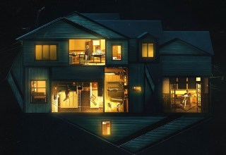 Poster image from A24's HEREDITARY