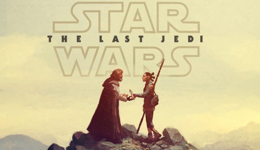 STAR WARS THE LAST JEDI Cover Image