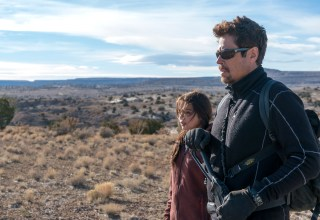 Benicio Del Toro and Isabela Moner star in Sony Pictures' SICARIO: DAY OF THE SOLDADO