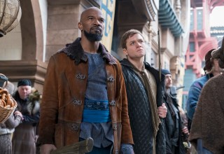 Jamie Foxx and Taron Egerton star in Lionsgate FIlms' ROBIN HOOD