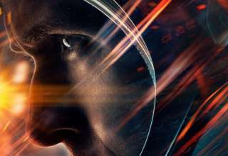 Poster image of Ryan Gosling in Universal Pictures' FIRST MAN