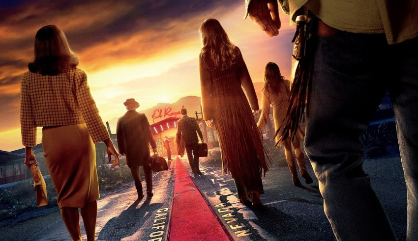 Poster image of 20th Century Fox's BAD TIMES AT THE EL ROYALE