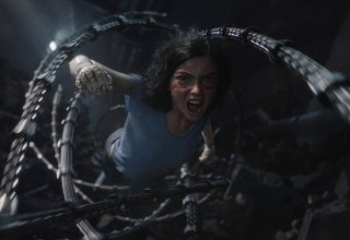 Rosa Salazar stars in Twentieth Century Fox's ALITA: BATTLE ANGEL