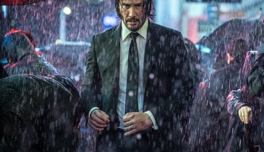 Keanu Reeves stars in Lionsgate Films' JOHN WICK: CHAPTER 3 - PARABELLUM