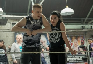 Jack Lowden and Florence Pugh star in MGM's FIGHTING WITH MY FAMILY